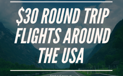 $30 Flights Around the USA with Frontier Airlines